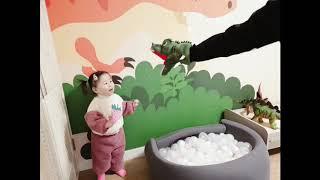 경주 켄싱턴리조트 코코몽 키즈룸 아이가 너무 좋아해!