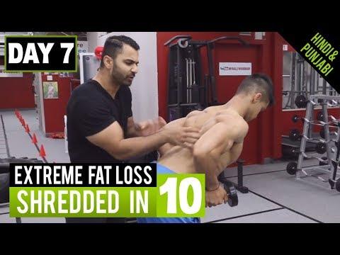 High Intensity FAT LOSS WORKOUT! Day-7 (Hindi / Punjabi)