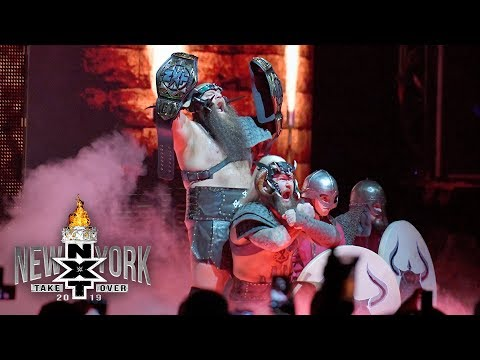 The War Raiders arrive for battle: NXT TakeOver: New York (WWE Network Exclusive)