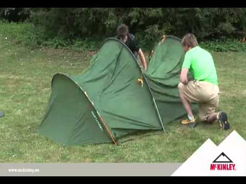 Aufbau- und Produktvideo des Trekkingzelts McKinley Venture 3.mp4 & Aufbau- und Produktvideo des Trekkingzelts McKinley Venture 3.mp4 ...