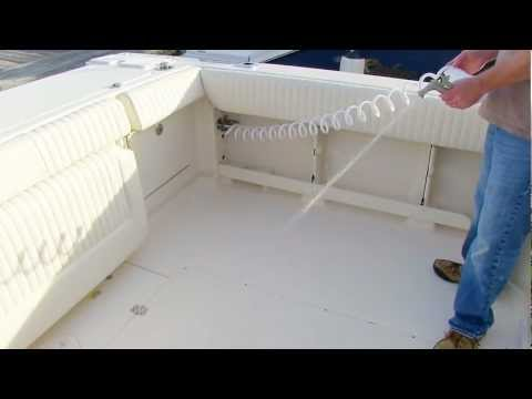 Grady-White EXPRESS 330 Systems: Saltwater Washdown