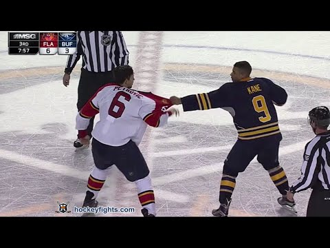 Alex Petrovic vs Evander Kane Feb 9, 2016 (Round 3)