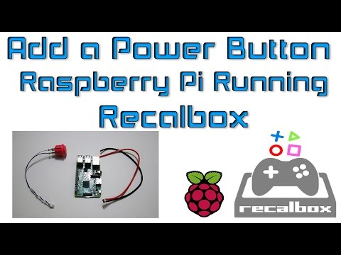 ETA Prime showing how to add a power on off button to recalbox