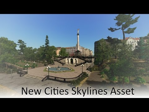 [Cities Skylines Asset] Angel of Peace Munich