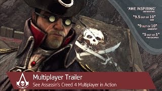 Multiplayer Trailer | Assassin's Creed 4 Black Flag [North America]