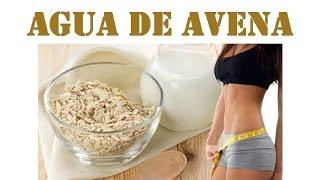 Prepara leche o agua de Avena correctamente y baja de peso