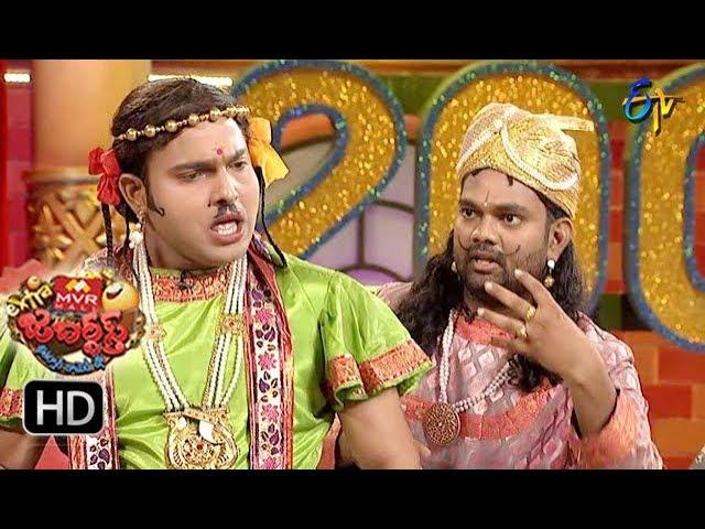 Sudigaali Sudheer Performance | Extra Jabardasth | 10th August 2018 | ETV Telugu