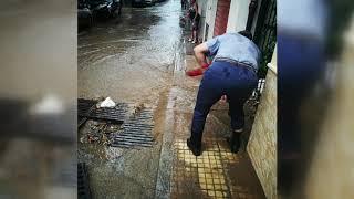 Bomba d'acqua su Brolo, i danni del maltempo del 3 ottobre