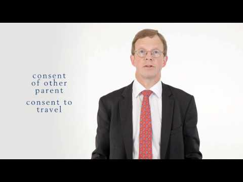 NOTARY ADVICE: CONSENT FOR CHILDREN TRAVELLING ABROAD by Notary Public James Couzens