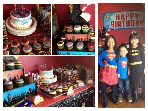 Superhero Birthday Party Ideas (Budget friendly) - My prep & vlog for Dylan's 3rd birthday party!