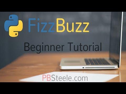 Python Fizz Buzz Program Tutorial - EASY thumbnail