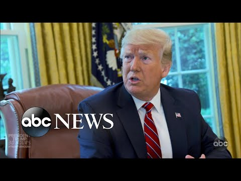 President Trump: 30 Hours l Interview with George Stephanopoulos l Part 3