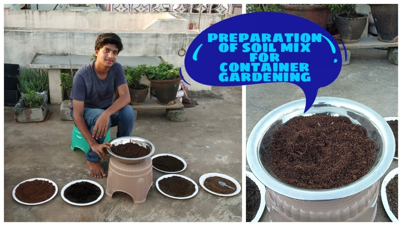 Best soil recipe for container gardening youtube - Best soil for container gardening ...