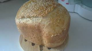 ХЛЕБОПЕЧКА: кунжутный хлеб