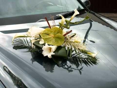 dcoration de voiture de maris dans 59 et 62 wedding deco - Decoration Capot Voiture Mariage