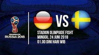 Jadwal Live Trans TV Pertandingan Piala Dunia 2018: Jerman Vs Swedia Pukul 01.00 Dinihari WIB