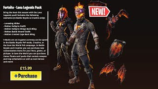 HOW TO GET THE *NEW* FORTNITE LAVA LEGENDS PACK NOW!!!
