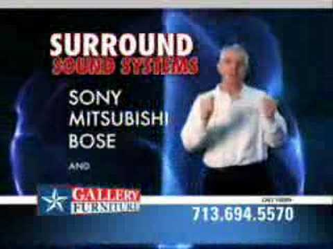 Gallery Furniture Home Theater Commercial Youtube