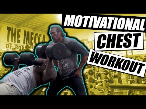 Gladiator Chest Workout | Start 2018 With A Bang