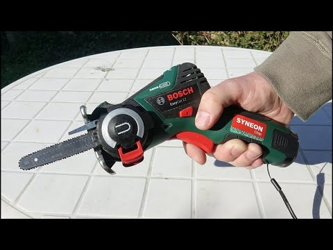 Bosch EasyCUT 12 Li Cordless SAW Unboxing and test