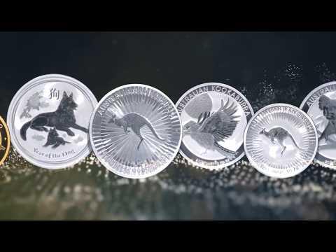 Les pièces d'or et d'argent d'investissement d'Australie 2018