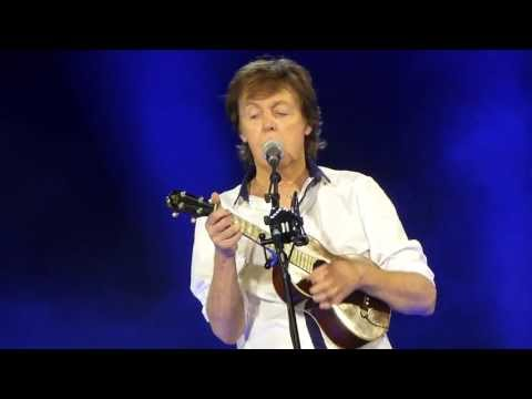 Paul McCartney Something in the Way She Moves Warsaw