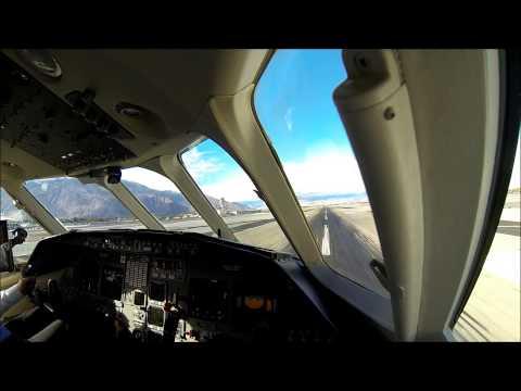 Landing in Palm Springs CA