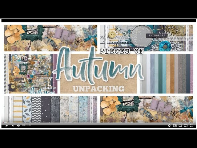 Pieces of Autumn - Unpacking Collab Kit by NBK-Design + Joyce Paul