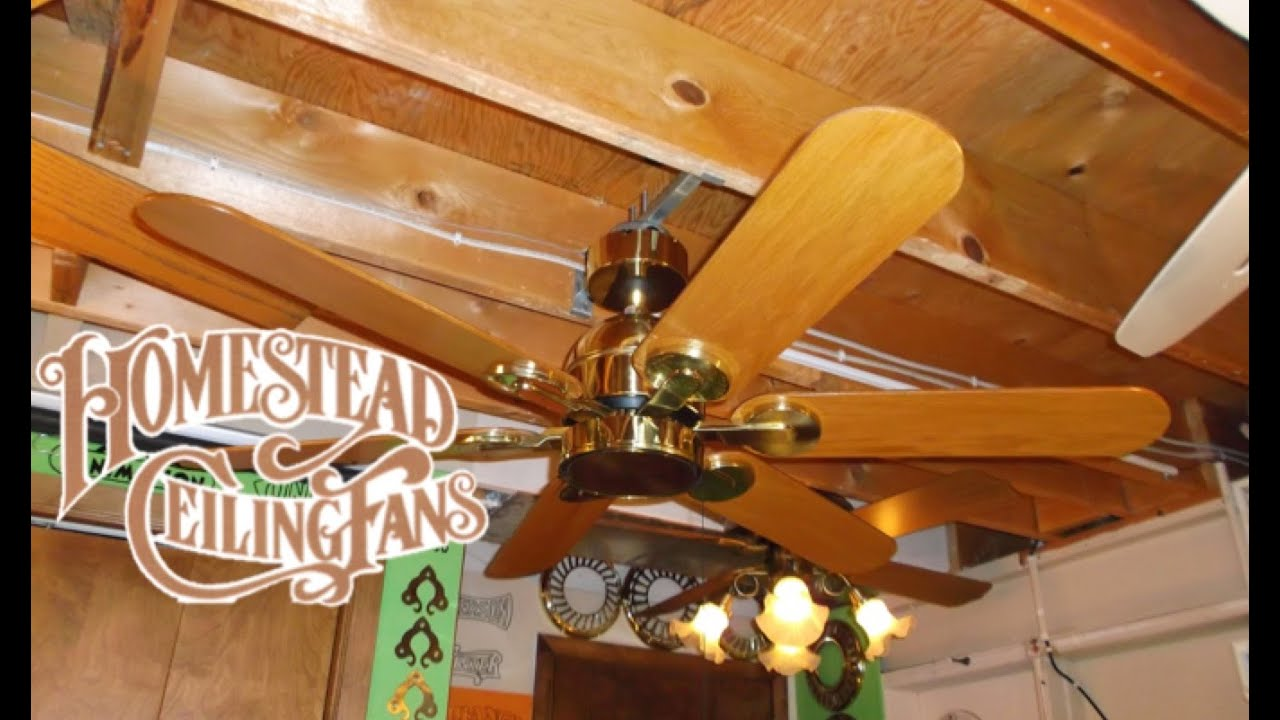 Homestead wind ii ceiling fan youtube aloadofball Images