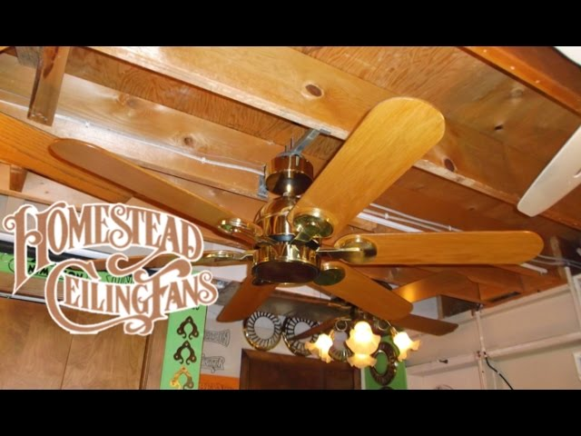 Homestead ceiling fan americanwarmoms homestead wind ii ceiling fan swarovskicordoba Gallery
