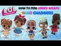 How To Find LOL Surprise Under Wraps Color Changing Dolls In Warm And Cold Water Series 4 Eye Spy