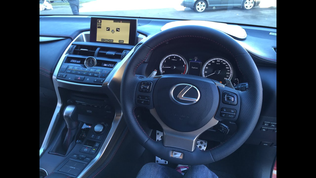 Lexus Nx Interior >> 2015 Lexus Nx 200t Interior Walk Around Review