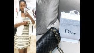 DAY OFF VLOG!!! LUNCH AT NEIMAN MARCUS and SHOPPING AT DIOR!!!