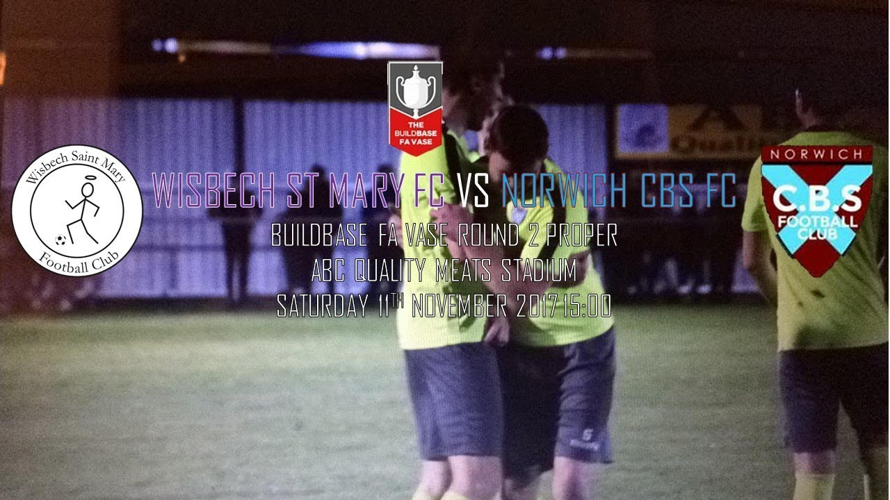 Wisbech st mary vs norwich cbs fa vase round 2 youtube wisbech st mary vs norwich cbs fa vase round 2 floridaeventfo Image collections