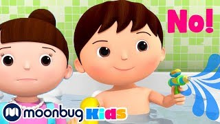 I Don't Want a Bath, No No | Little Baby Bum Kids Songs & Nursery Rhymes| Play and Learn #Withme