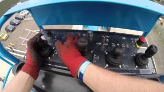 AFI MEWP Emergency Lowering videos Genie GZ135DS, GZ135DJS