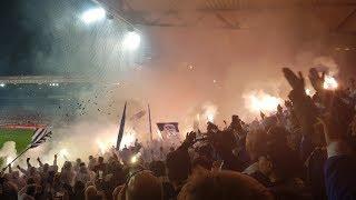 Pyro-Aktion Und Stimmungs-Hoheit Der Hertha-Fans Beim Derby In Köpenick!