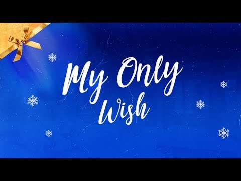 Britney Spears - My Only Wish (This Year) (Lyric Video)