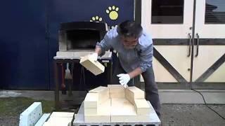 ミニ石窯キットの組み立て方