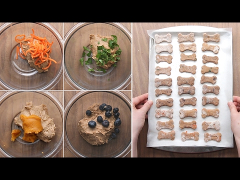 Dog Biscuits 4 Ways