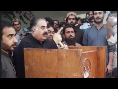 Nawab Sanaullah Zehri Chief Of Jhalawan | Party Concepts Speech | In Khuzdar Khalke Jhalawan