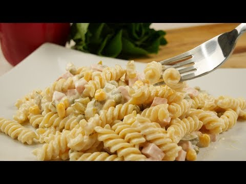 Mamas Nudelsalat | Nudelsalat mit Mayonnaise