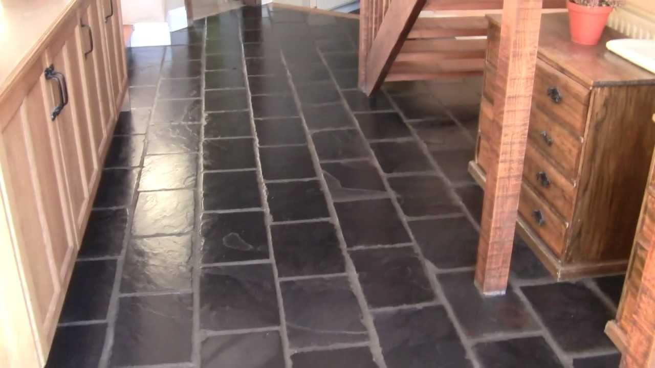 Black Slate Floor Tiles M2ts You