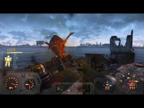 Fallout 4 -  6 Explosive weapons comparison - 10mm,Pipe,Spray,Combat,Assault and Minigun