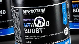 Das neue MYAMINO BOOST Energie-Supplement | Koffein, Grüntee, BCAAs, Guarana