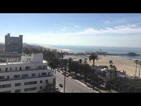 From the balcony at Wilshire Associates Inc., Santa Monica, CA