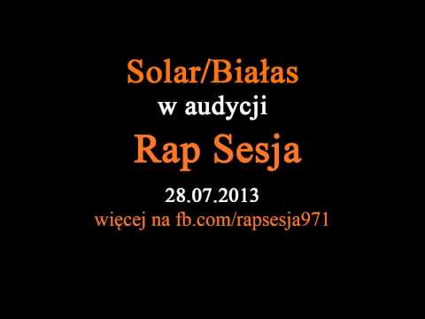 Rap Sesja | 28 lipca | Solar/Białas, Tomb, Quebonafide | freestyle | 28.07