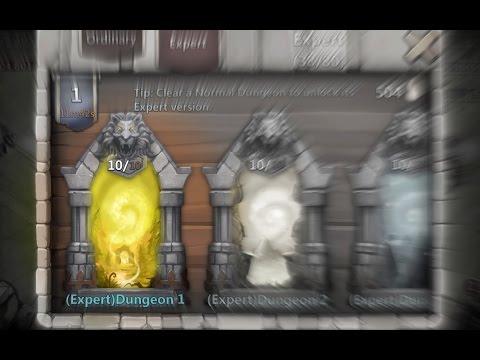 Castle Clash - NEW Expert Dungeons - 1/8