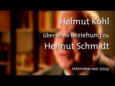 Helmut Kohl über seine Beziehung zu Helmut Schmidt (dbate)