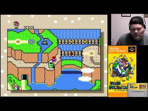 Super Mario World (Part 4) - SNES Classic | VGHI Play 'n' Chat Live Stream
